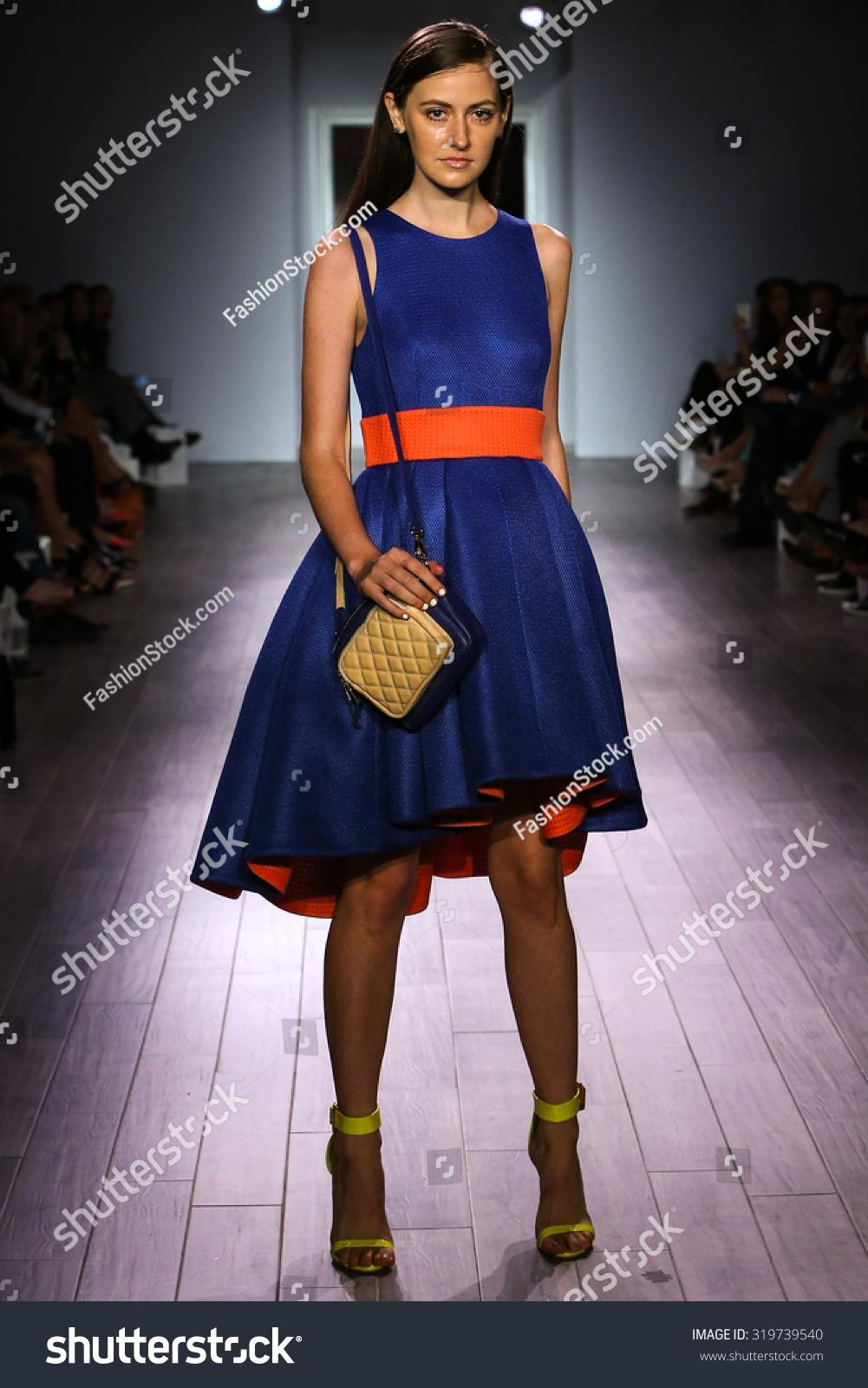 New York Ny September 16 A Model Walks The Runway At Raul Penaranda Fashion Show During New