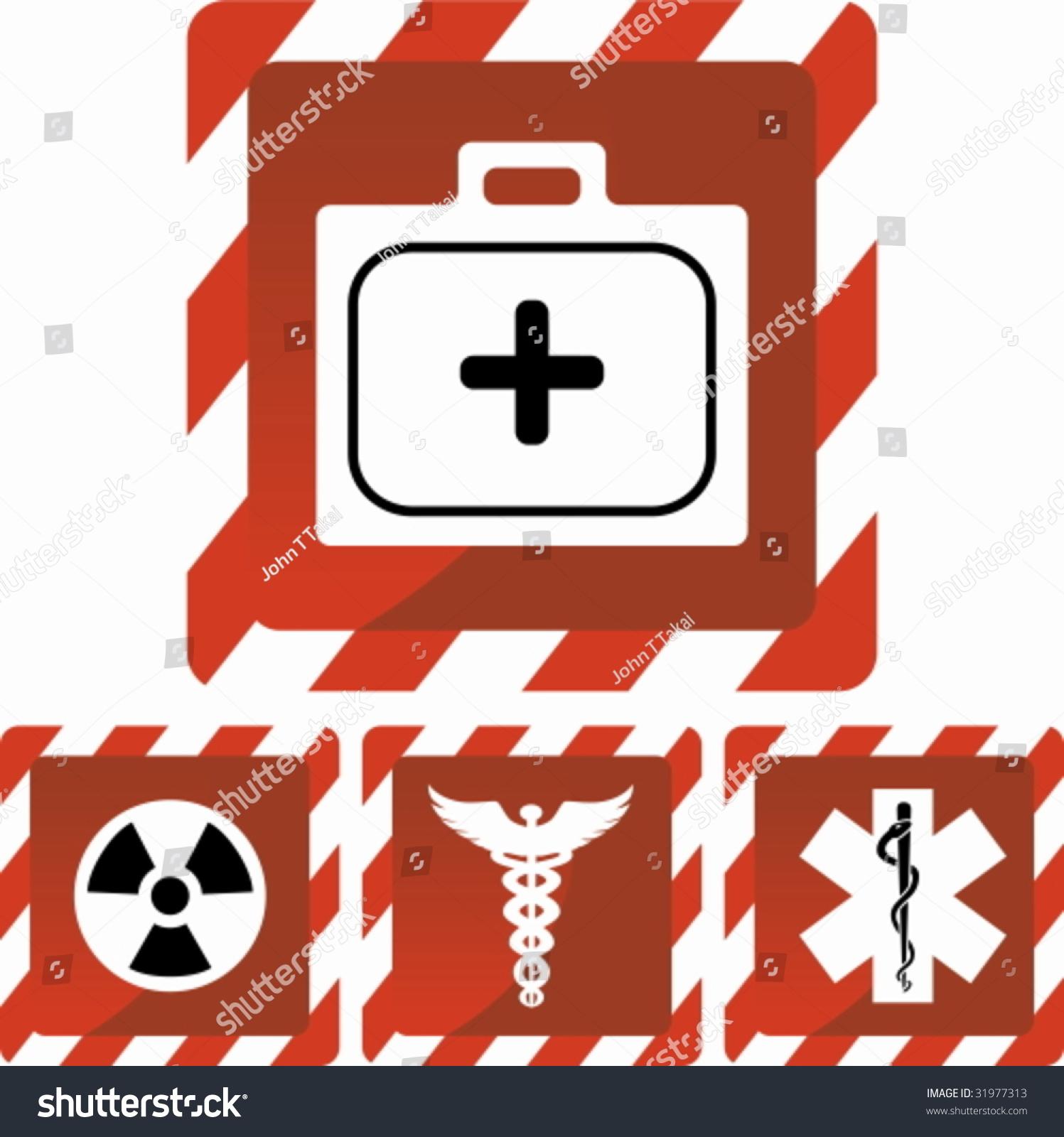Medical Alert Stock Vector Royalty Free 31977313 Shutterstock