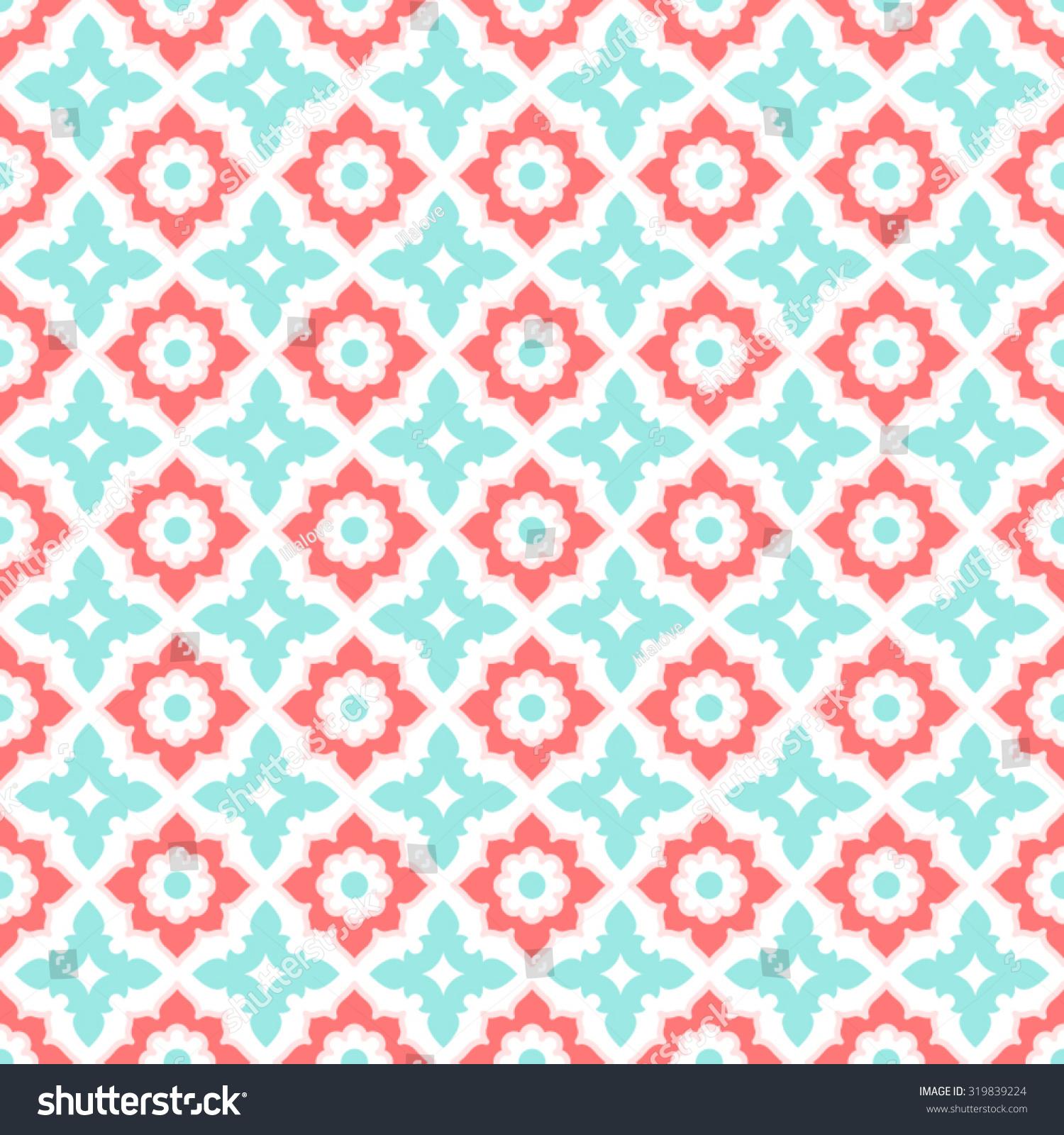 Seamless pattern ceramic tile design floral stock vector 319839224 seamless pattern ceramic tile design with floral ornateendless texturector illustration dailygadgetfo Gallery
