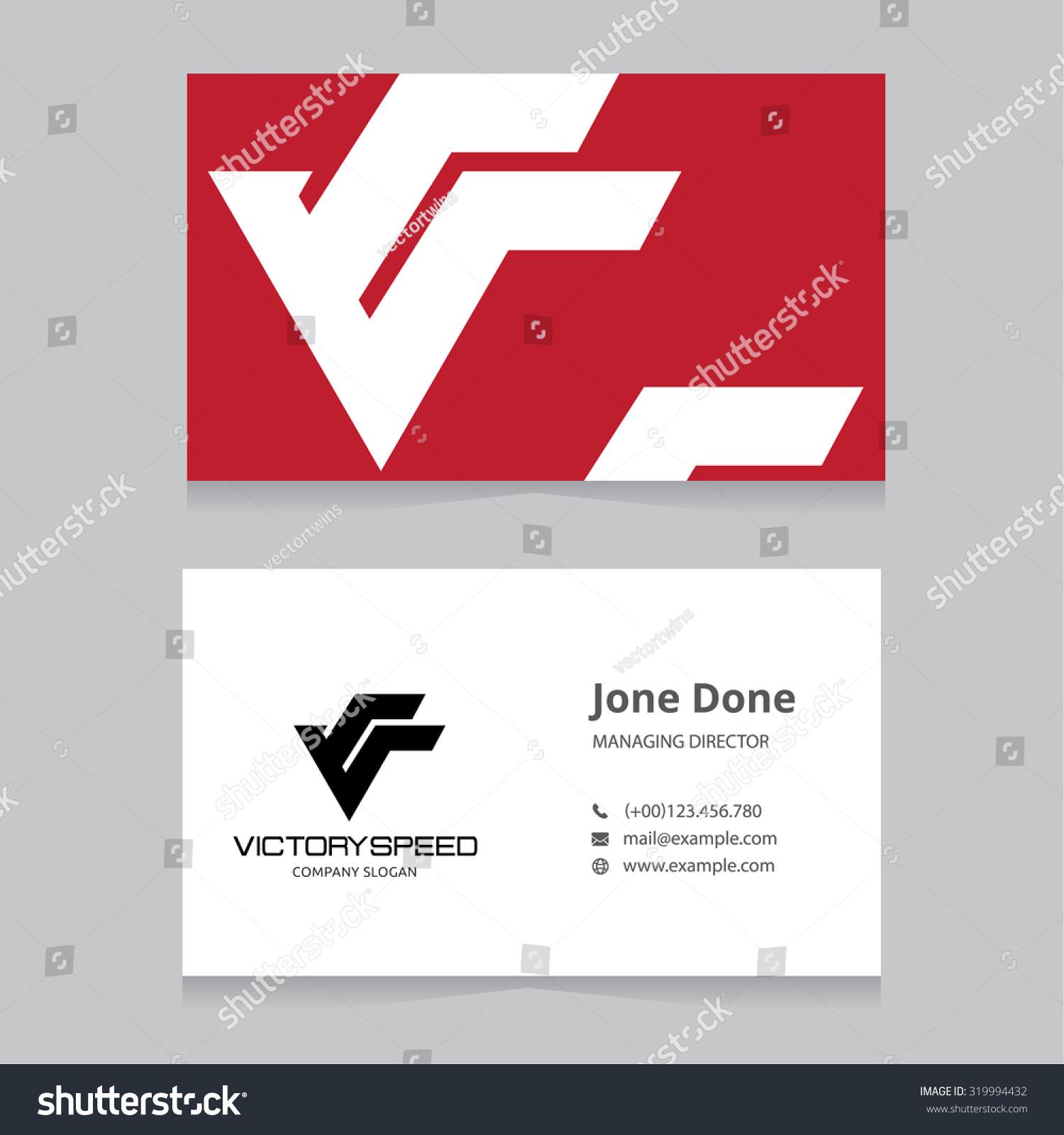 Victory Logov Letter Logovictory Speedautomotive Logobusiness