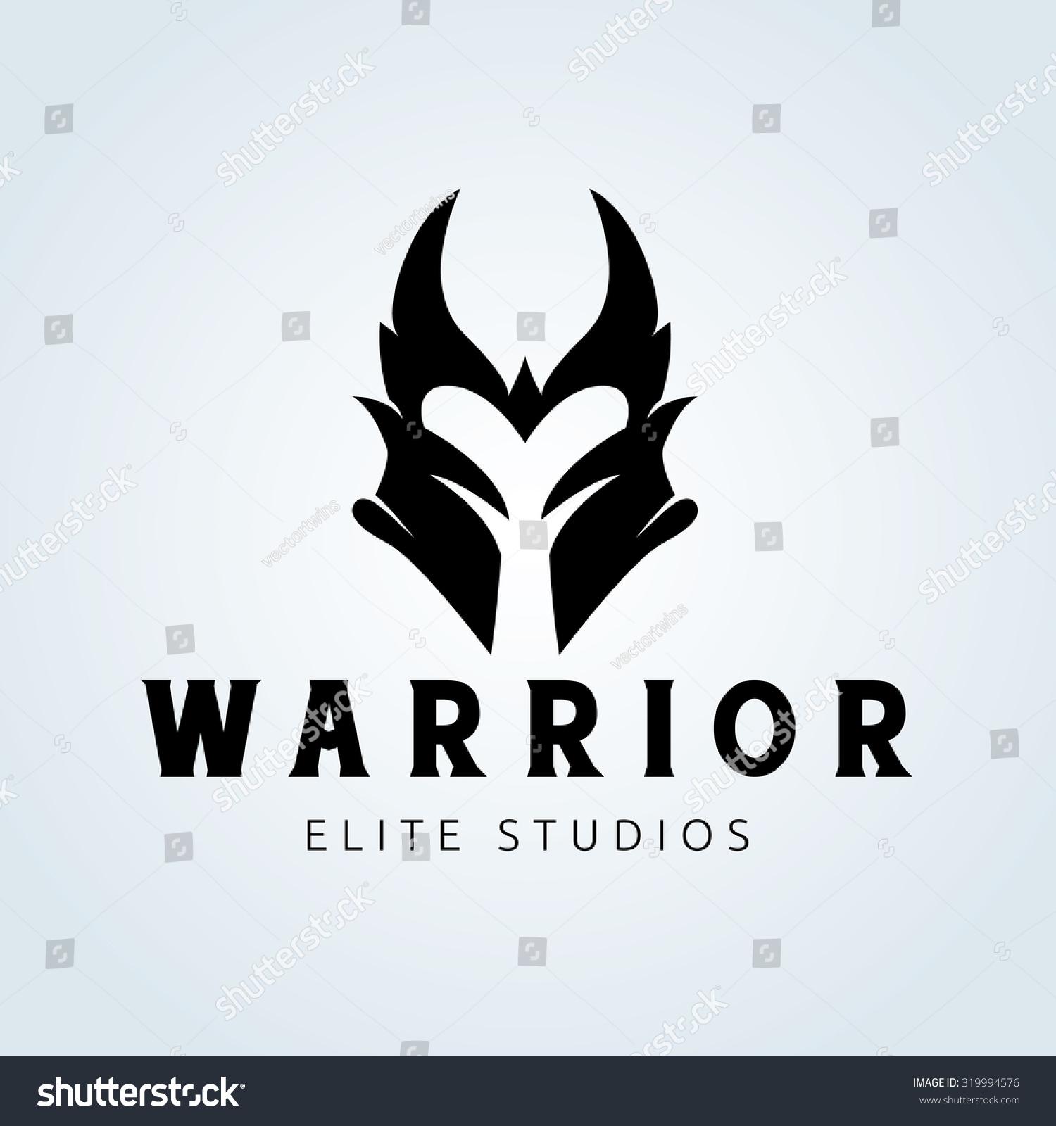 Warrior Logovikingarmymask Logoking Logovector Logo