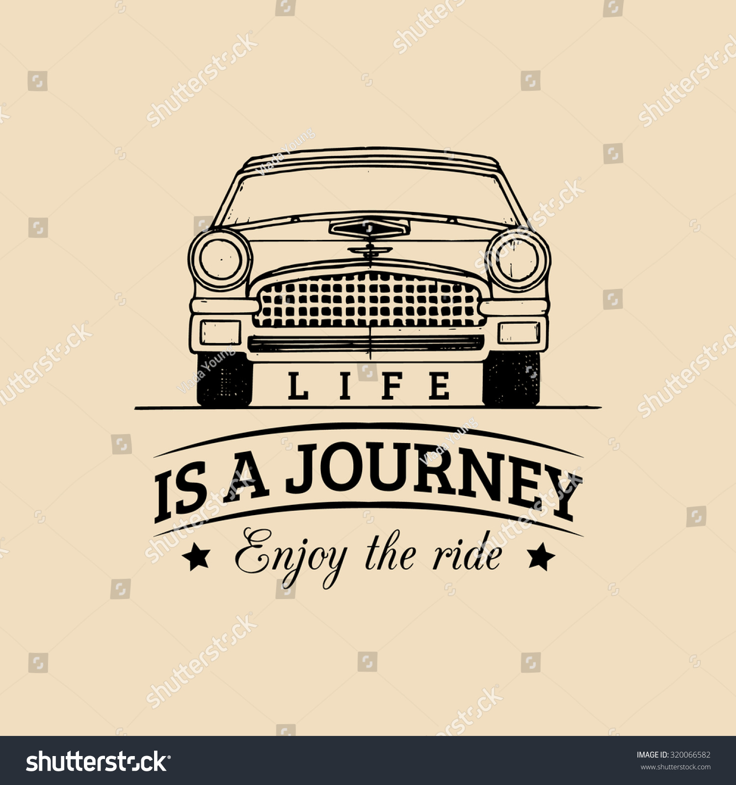 Motivational Inspirational Quotes: Life Journey Enjoy Ride Motivational Quote Vectores En