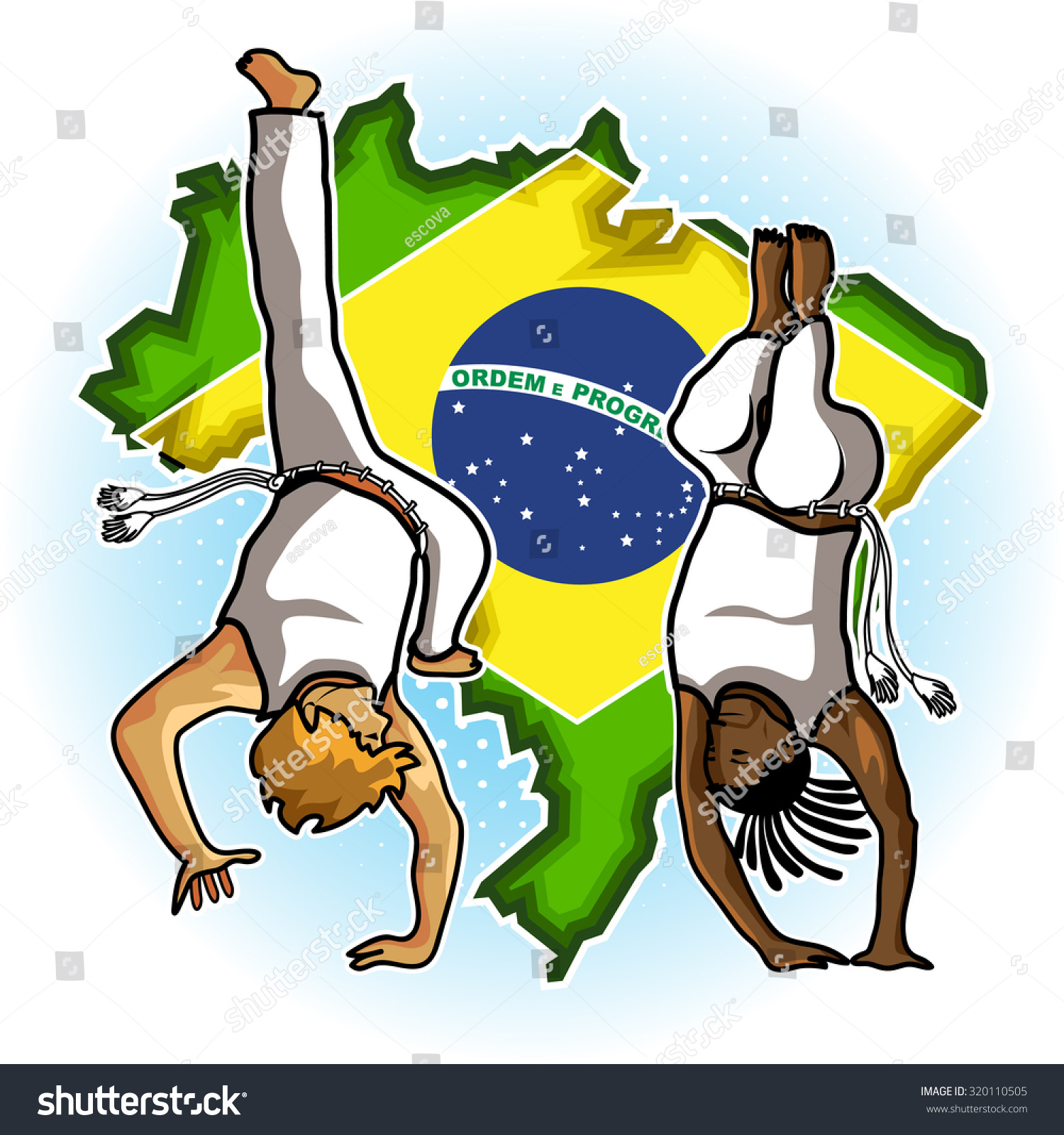 Who And Where Are Brazil Playing This Month And Who Is In: Brazilian People Playing Capoeira Martial Arts In Brazil