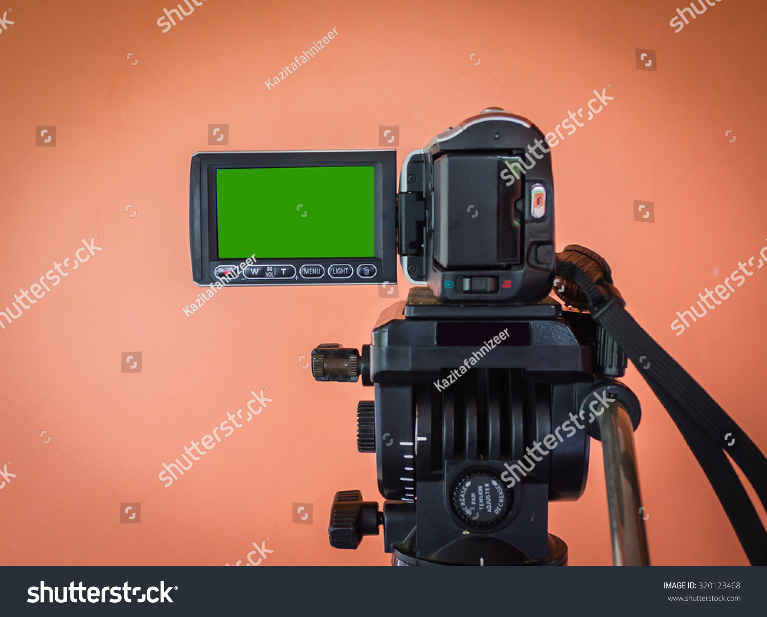 Green Screen Video Recording Frame Picture Stock Photo (Safe to Use ...