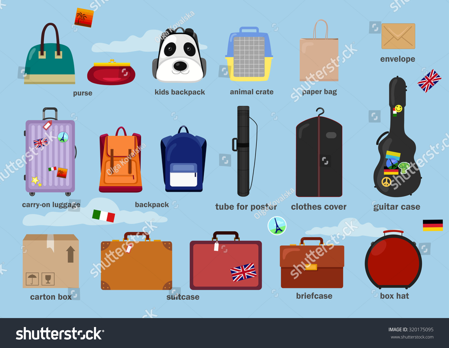 Different Types of Bags for Childrens