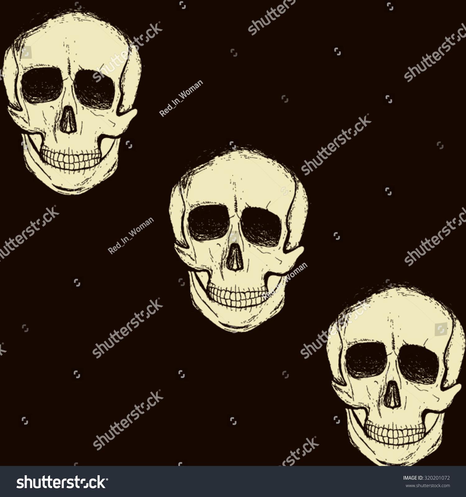 halloween postcard three white diagonally arranged stock vector - Chrispy Halloween