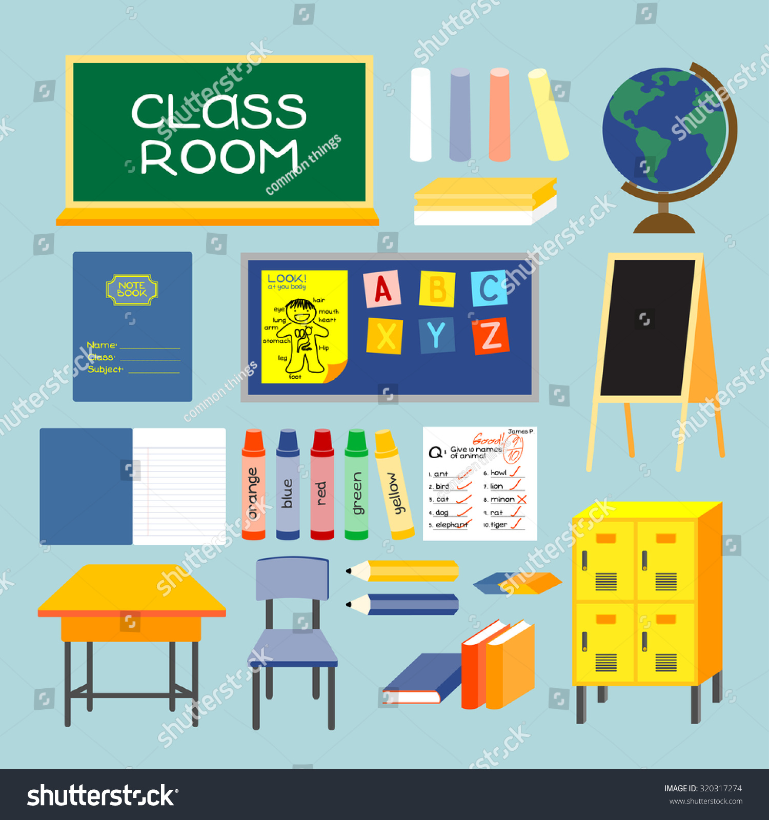 Class Room Old Style Class Room Equipments Furniture And