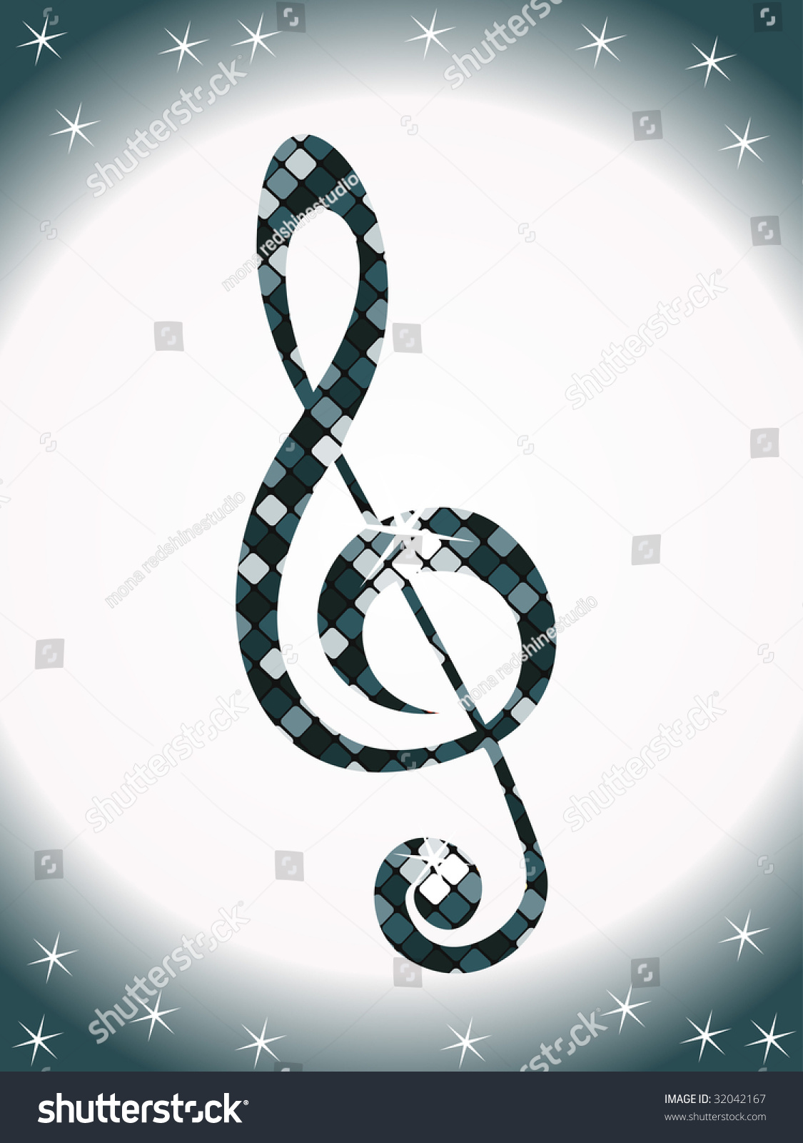 Music Note Disco Light This Type Stock Vector 32042167 Shutterstock