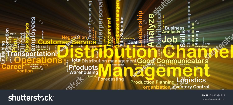 background concept wordcloud illustration distribution