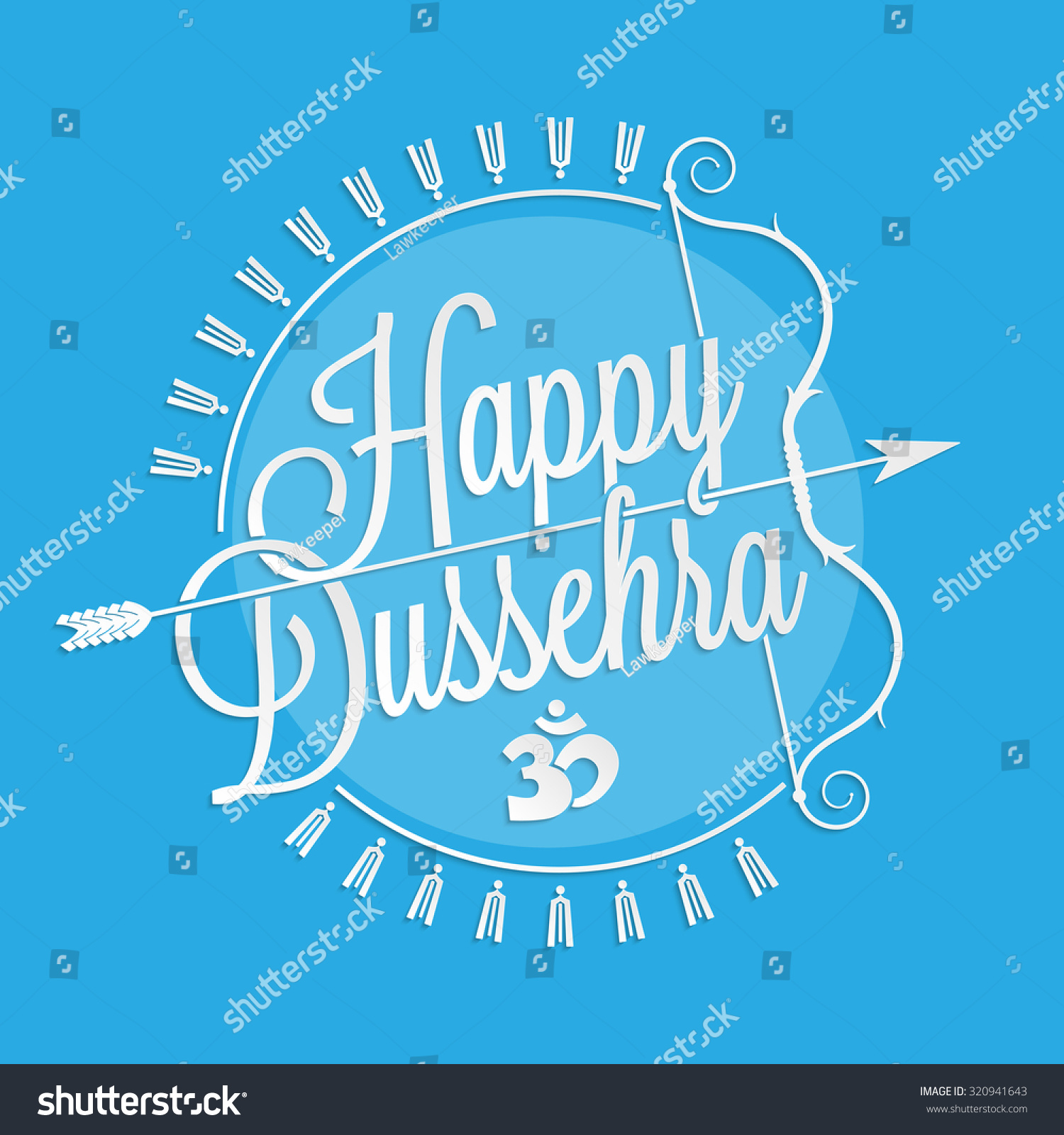 Happy dussehra lettering your greeting card stock vector 2018 happy dussehra lettering for your greeting card design m4hsunfo