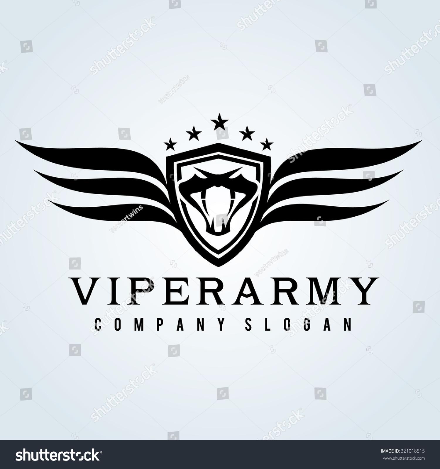 viper armysnake logocrest logocobra logovector logo stock vector 321018515 shutterstock. Black Bedroom Furniture Sets. Home Design Ideas