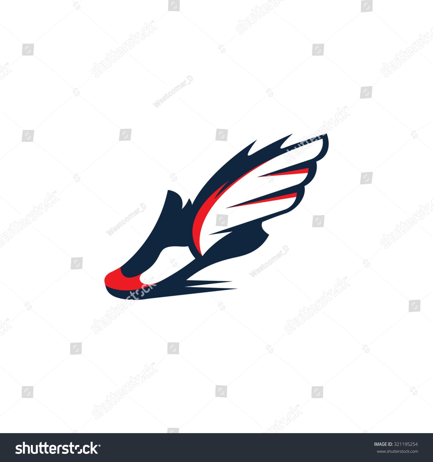Sports shoes logos