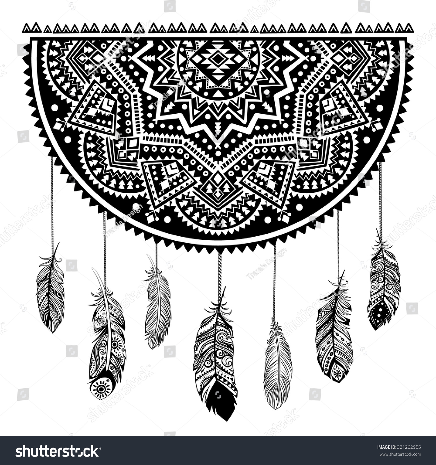 Indian Dream Catcher Ez Canvas