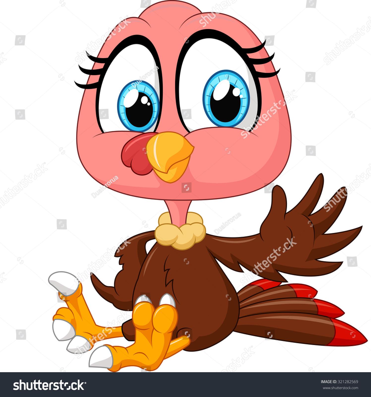 cute turkey cartoon stock illustration 321282569 shutterstock