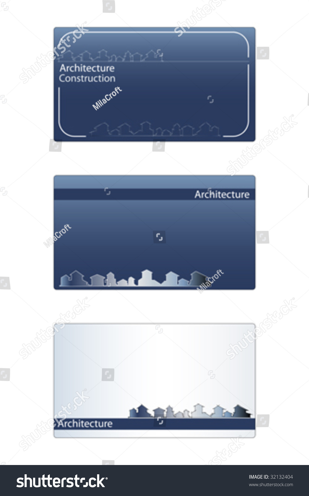 Business card real estate architecture construction stock vector business card for real estate architecture construction business labels useful magicingreecefo Image collections