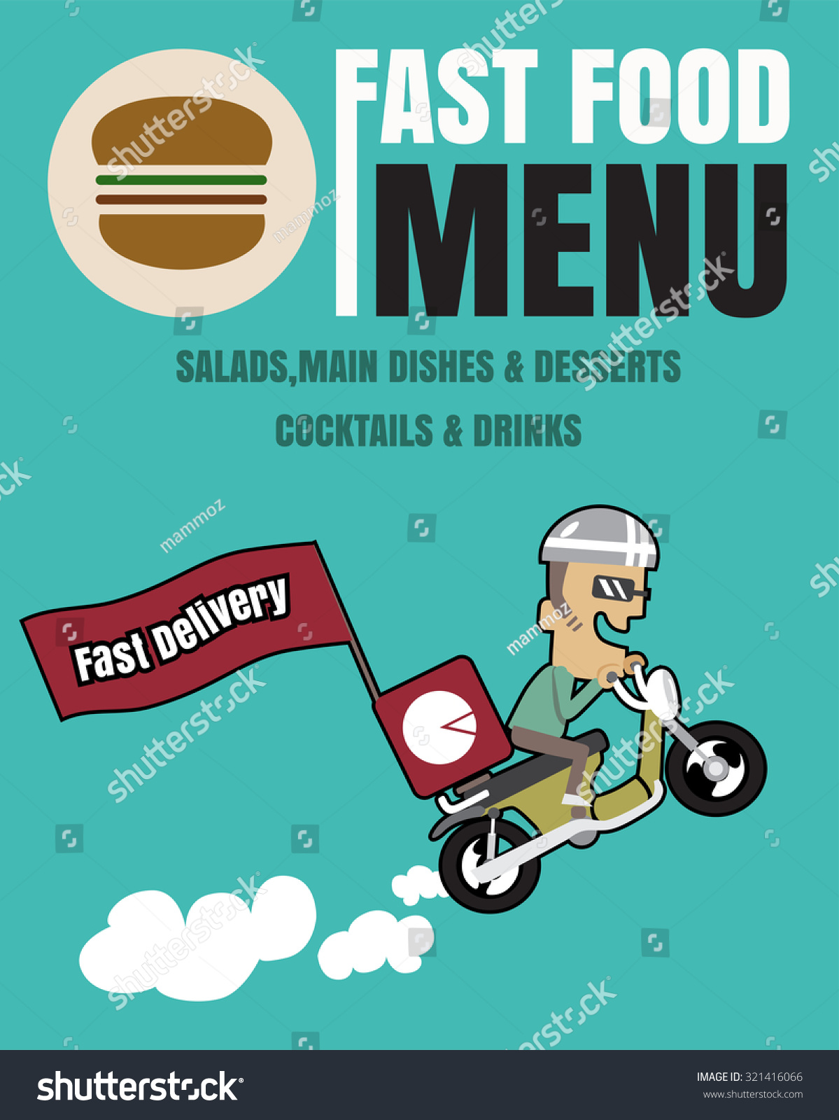 32+ Advertising Food Delivery Poster PNG