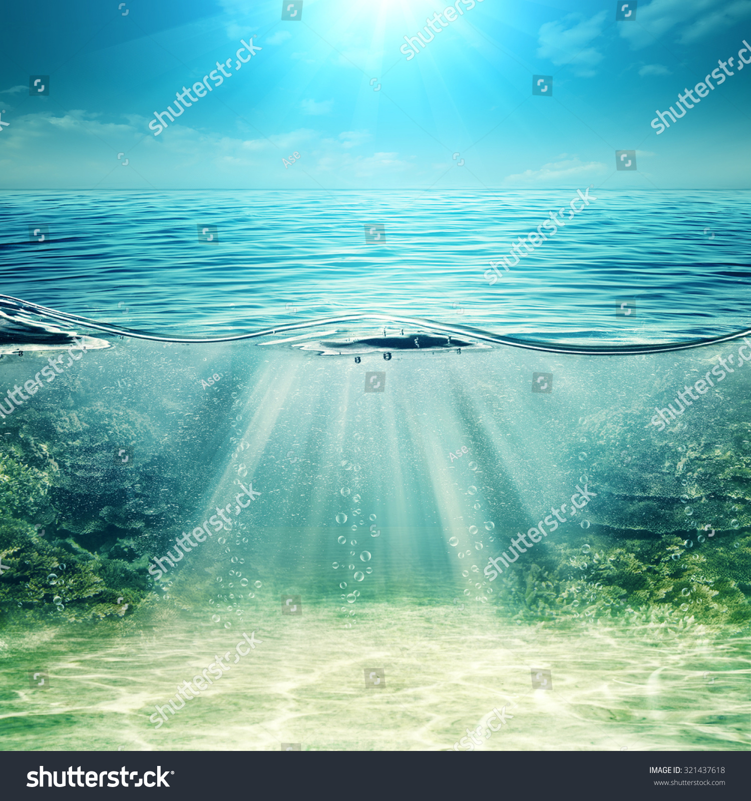 deep blue ocean abstract underwater backgrounds stock photo 321437618 shutterstock. Black Bedroom Furniture Sets. Home Design Ideas