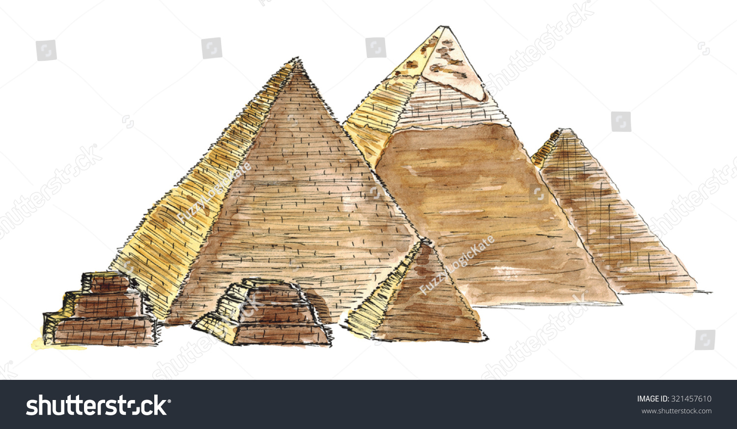 an overview of the architecture of the pyramids of egypt The step pyramid of djozer built c2630 bce the red pyramid of snefru built c2600 bce what are the egyptian pyramids arguably the most famous form of late prehistoric art, the pyramids of ancient egypt are the world's largest funerary edifices or tombsdeveloped from the mastaba tomb, they are one of the most enduring symbols of egyptian art in general and egyptian architecture in particular.