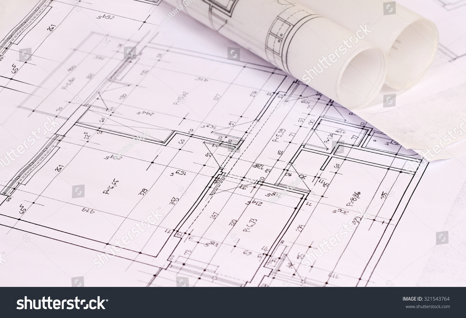 Architecture background construction plan tools and for Blueprint architects