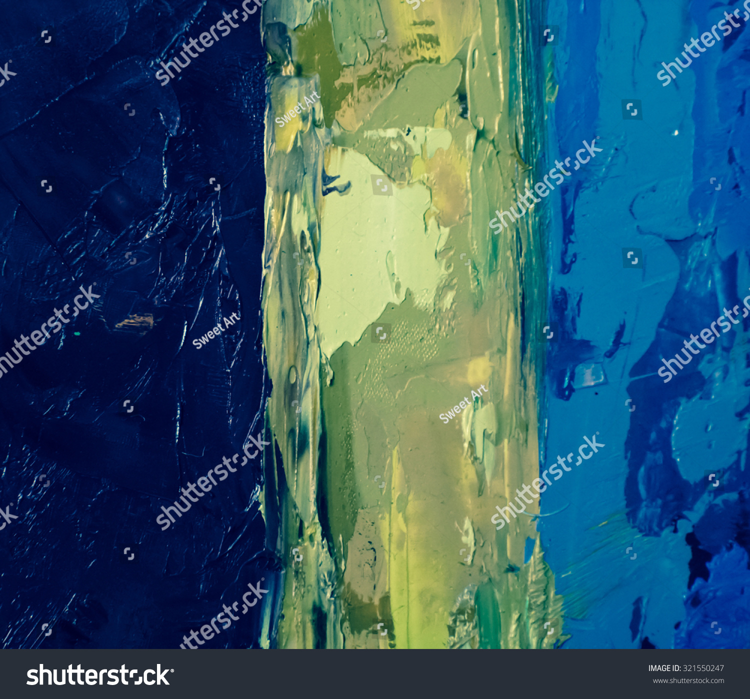 Oil Canvas Art Stock Photo Abstract Art Background Oil Painting On