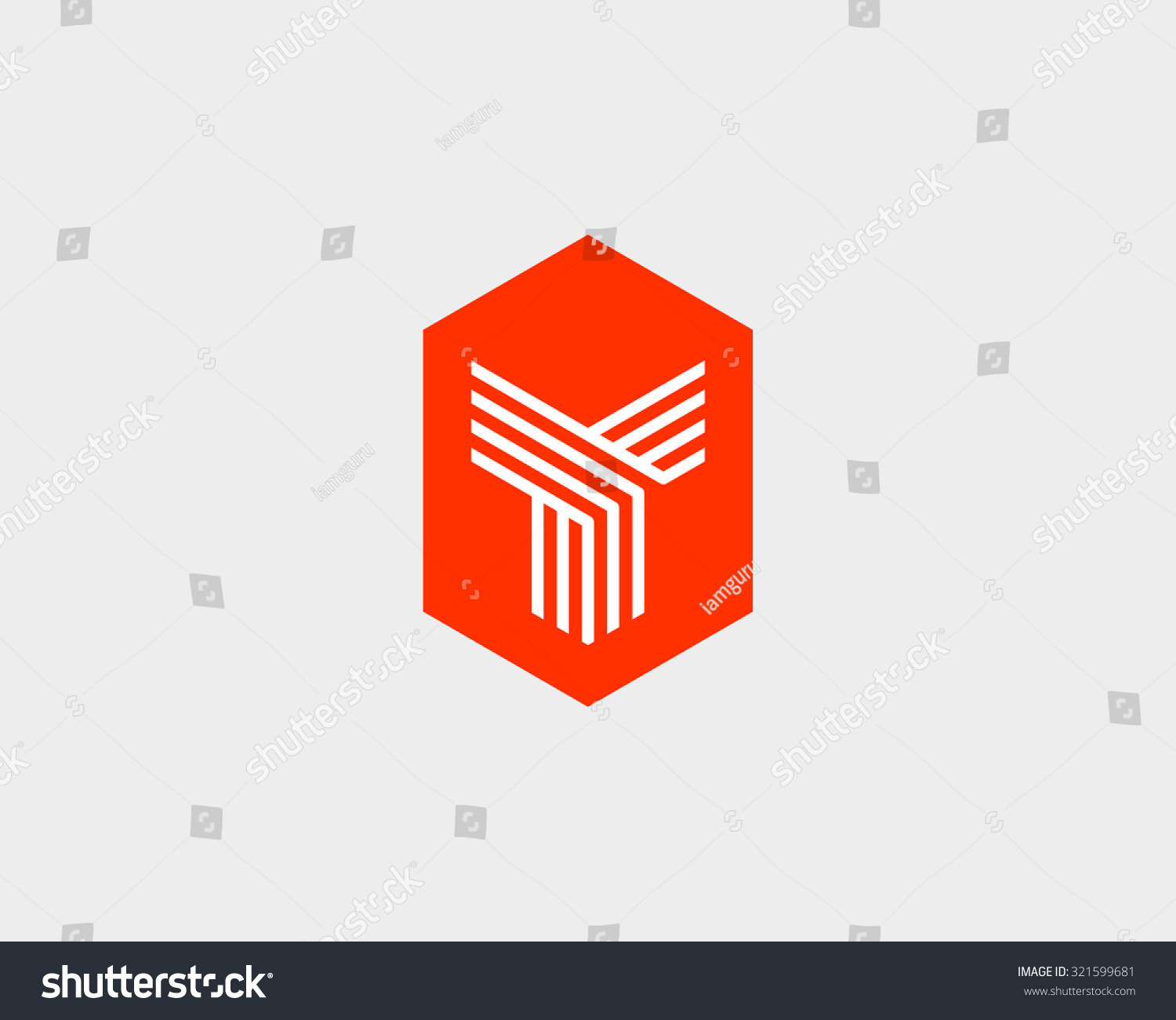 Letter Y Logo Icon Vector Design Stock Vector 321599681