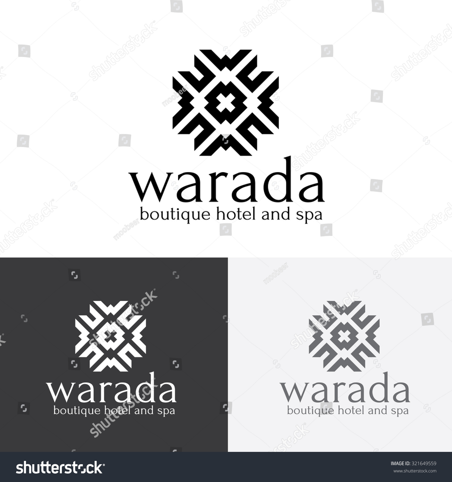 Boutique hotel logohotel logovintage logovector logo stock for Boutique hotel logo