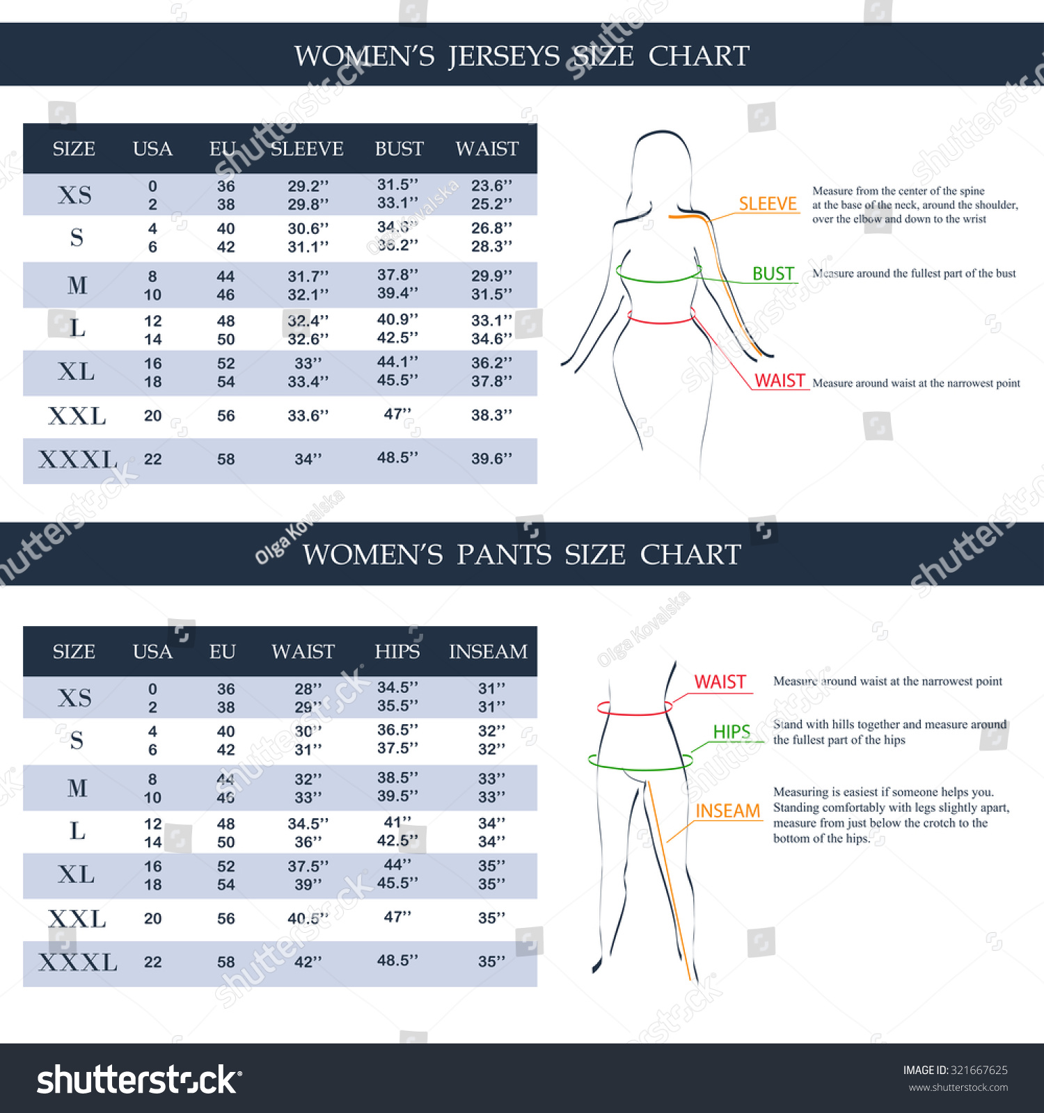 Men S Clothing Sizes International Conversion Charts And Size Charts