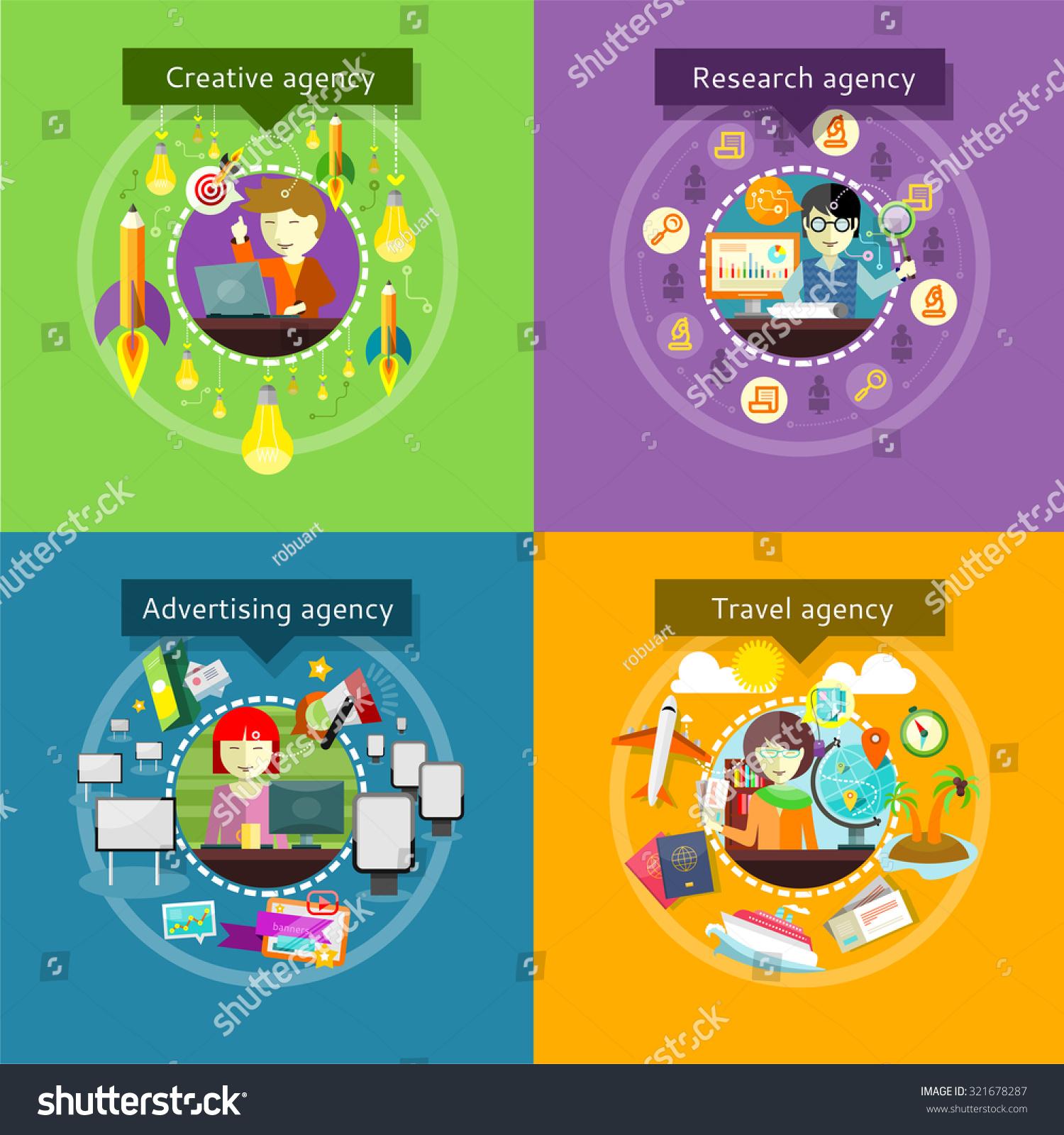 Creative Advertising Agency Research Travel Development