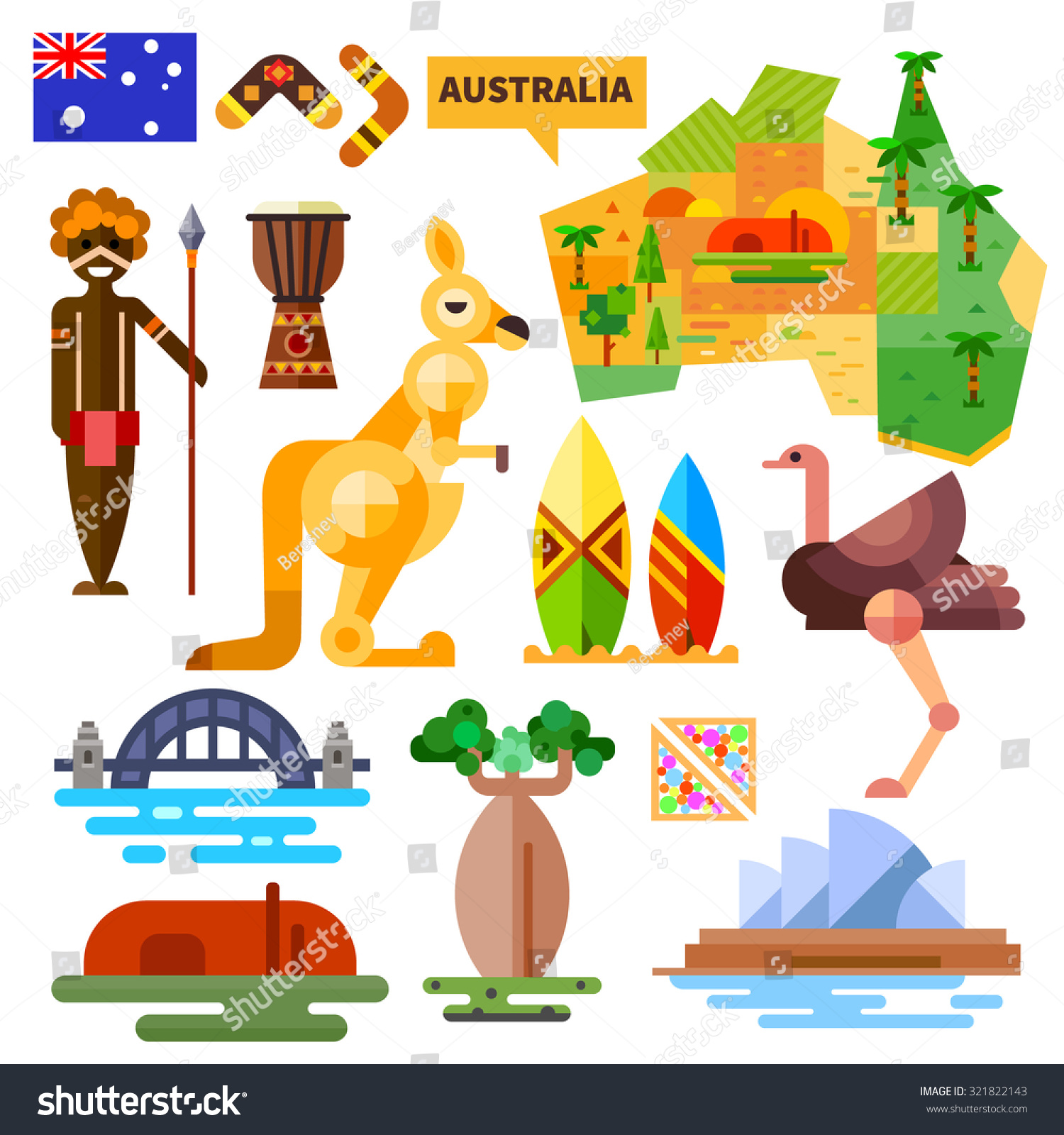Australia animal symbols view symbol biocorpaavc