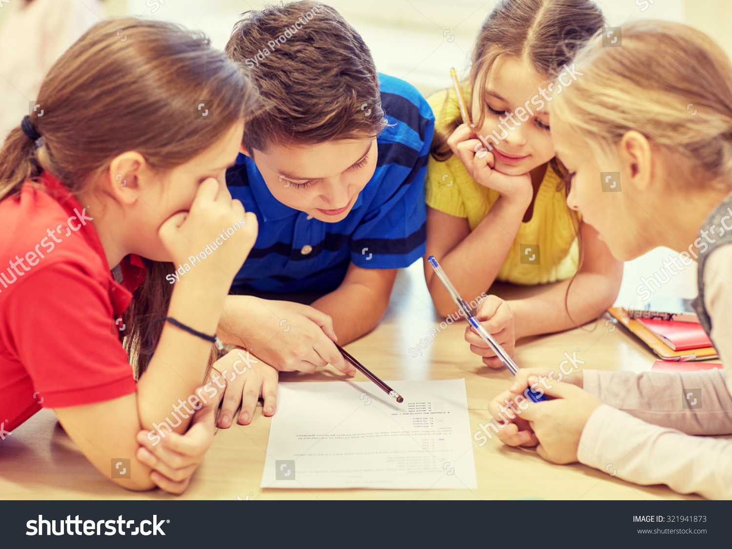 education elementary school learning people concept stock photo