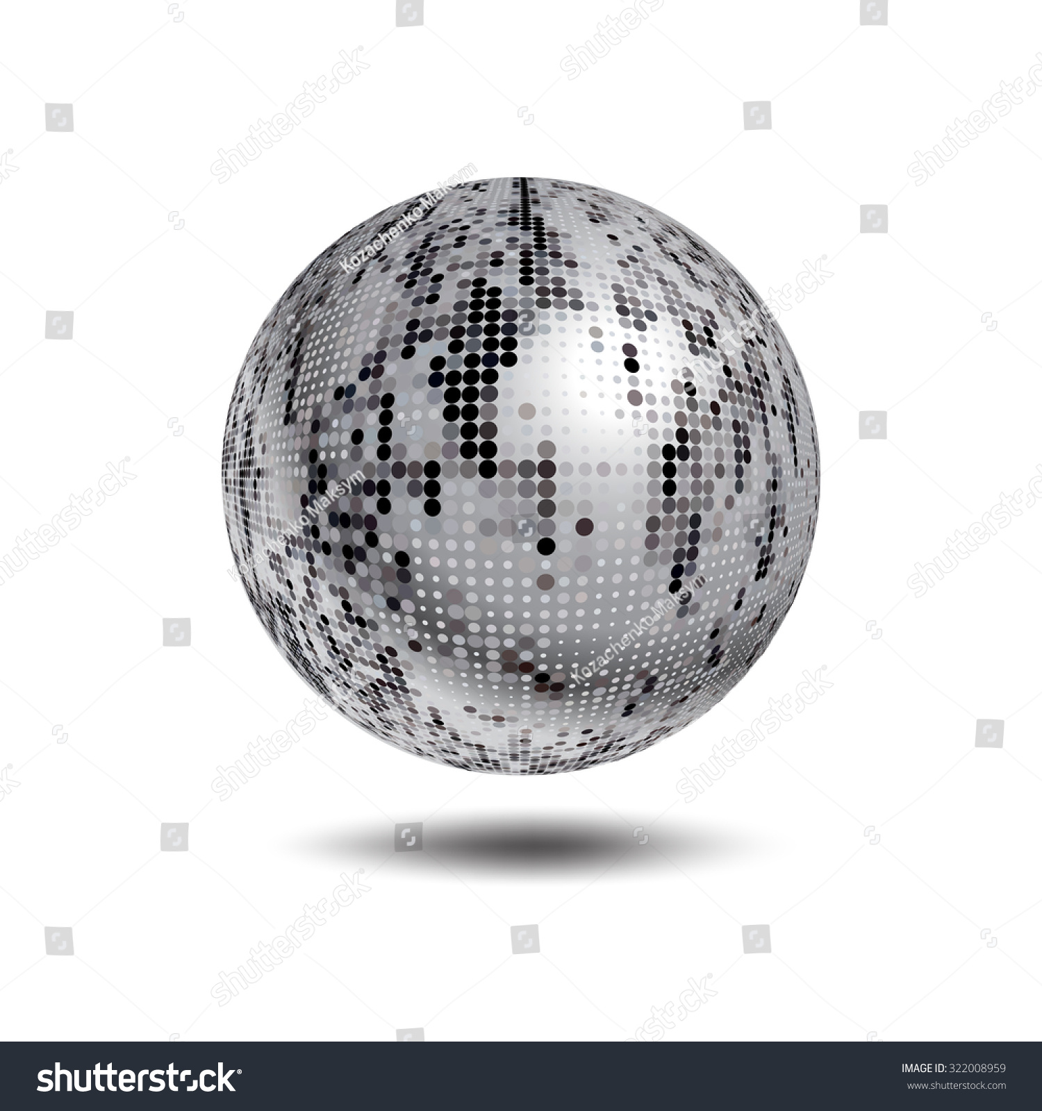 silver disco ball background - photo #14