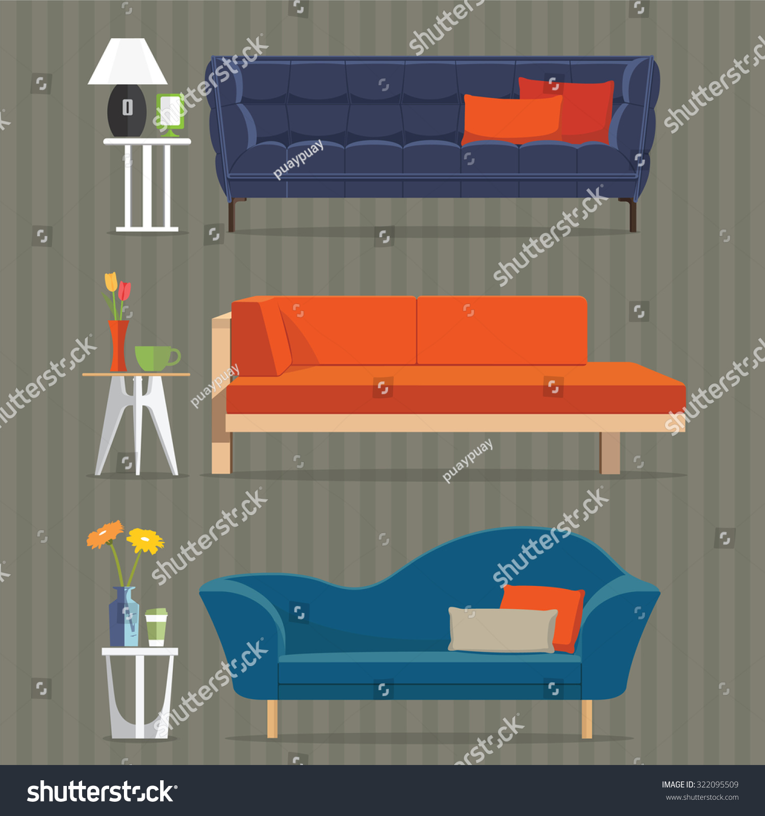 Design Concepts Furniture office design concepts office design concept idea office furniture and design concepts prepossessing ideas pleasant office office design concepts Living Room Furniture Design Concept Set With Modern Home Interior Elements Isolated Vector Illustration