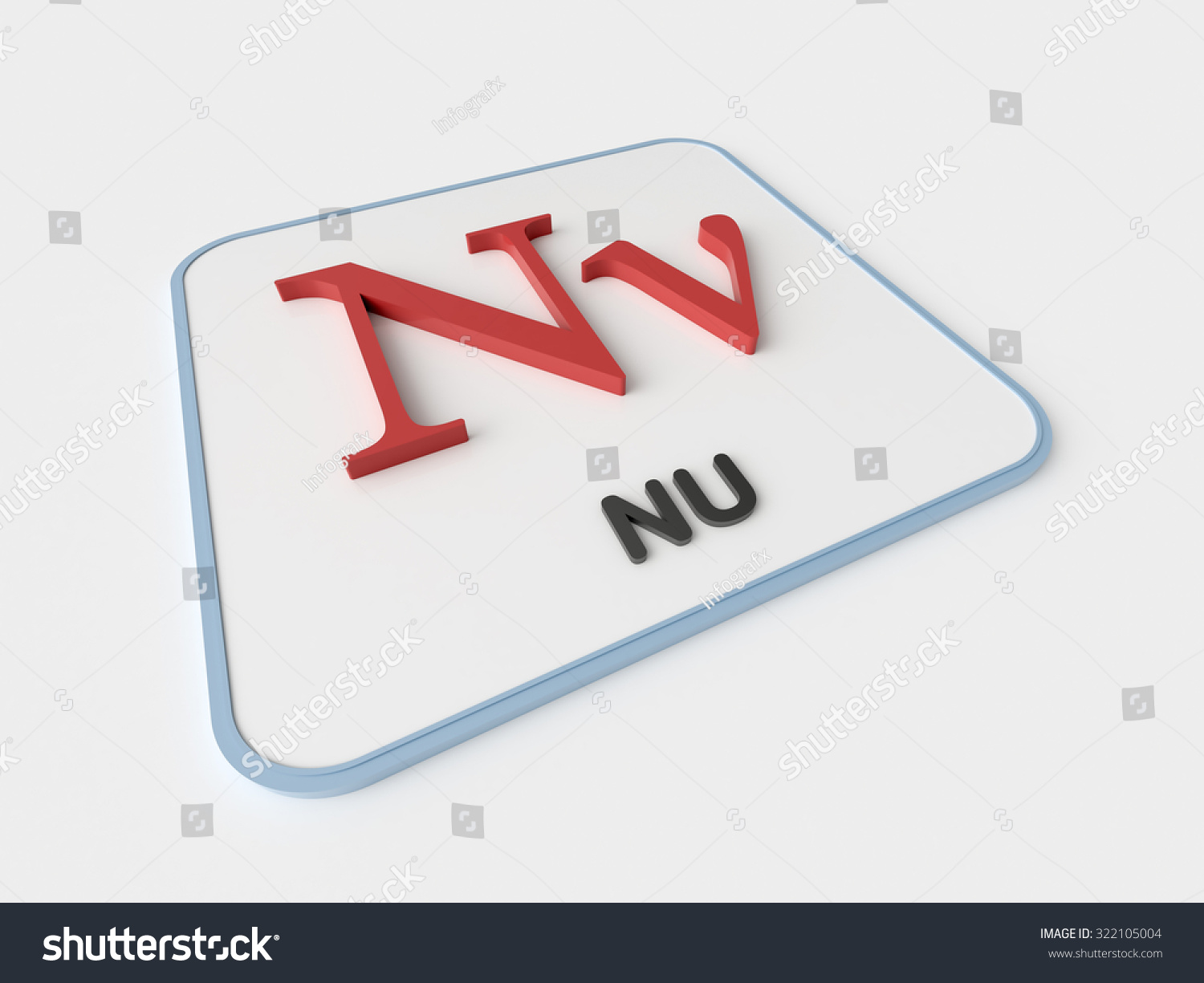 Nu greek symbol choice image symbol and sign ideas nu greek symbol on white display stock illustration 322105004 nu greek symbol on white display board urtaz Gallery