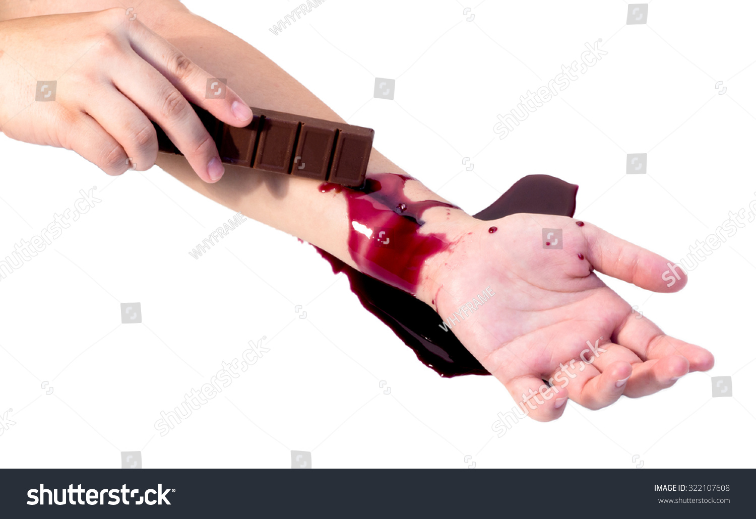 How to cut yourself