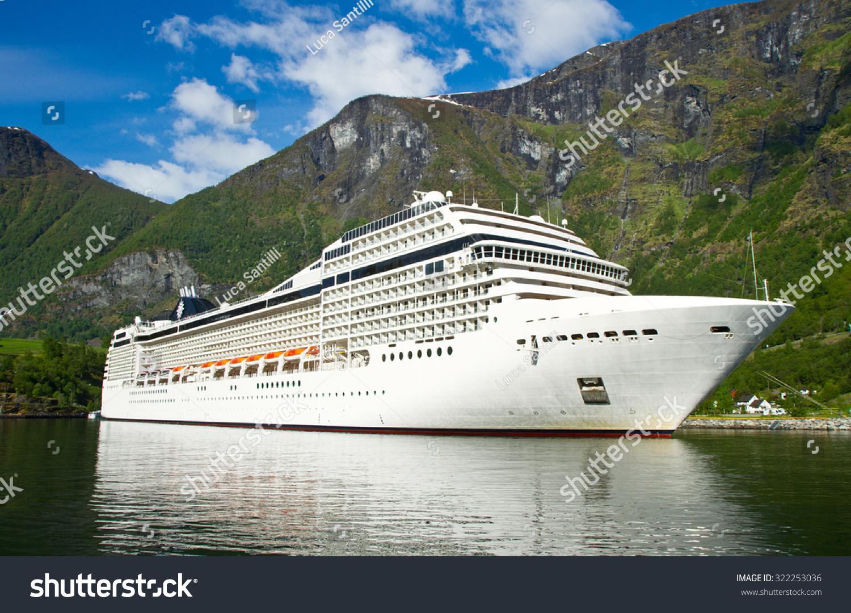 Cruise Ship Norway Fjord Stock Photo Shutterstock - Cruise ship norway