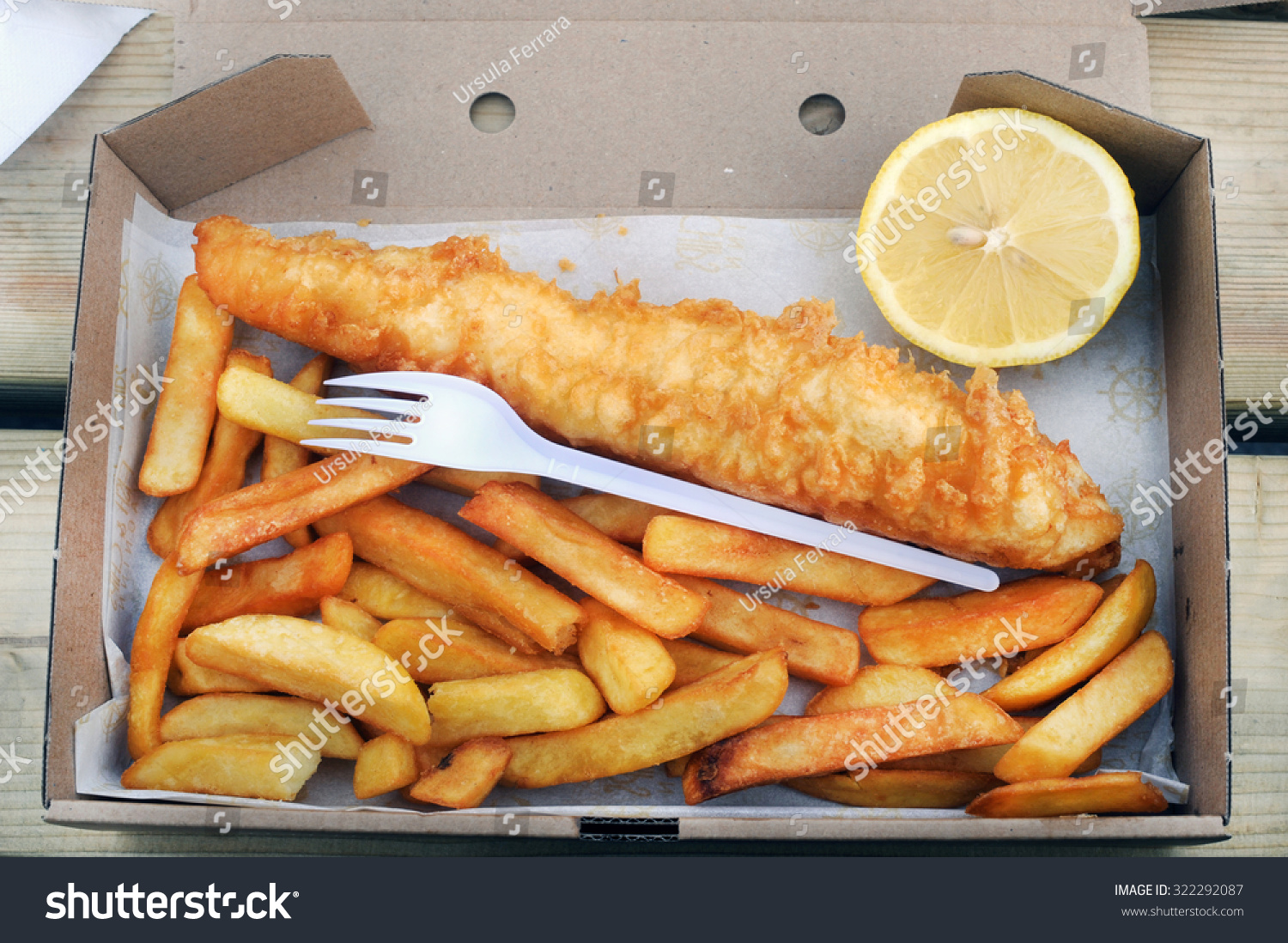 Fish chipsiceland street food stock photo 322292087 for Icelandic fish and chips