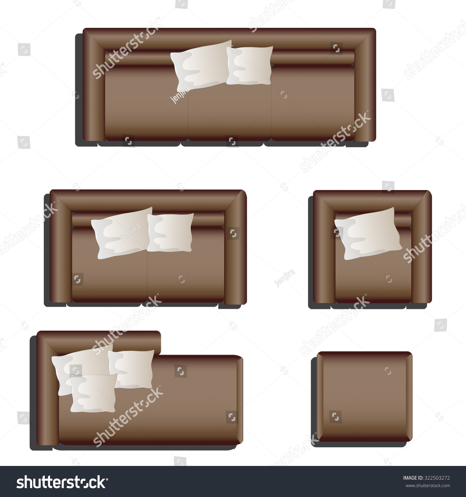 http://image.shutterstock.com/z/stock-vector-furniture-top-view-set-for-interior-vector-illustration-brown-sofa-322503272.jpg