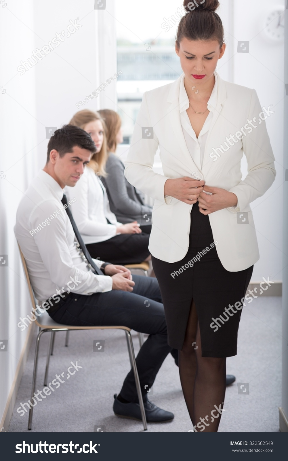 young sad w after bad job interview stock photo  after bad job interview preview save to a lightbox