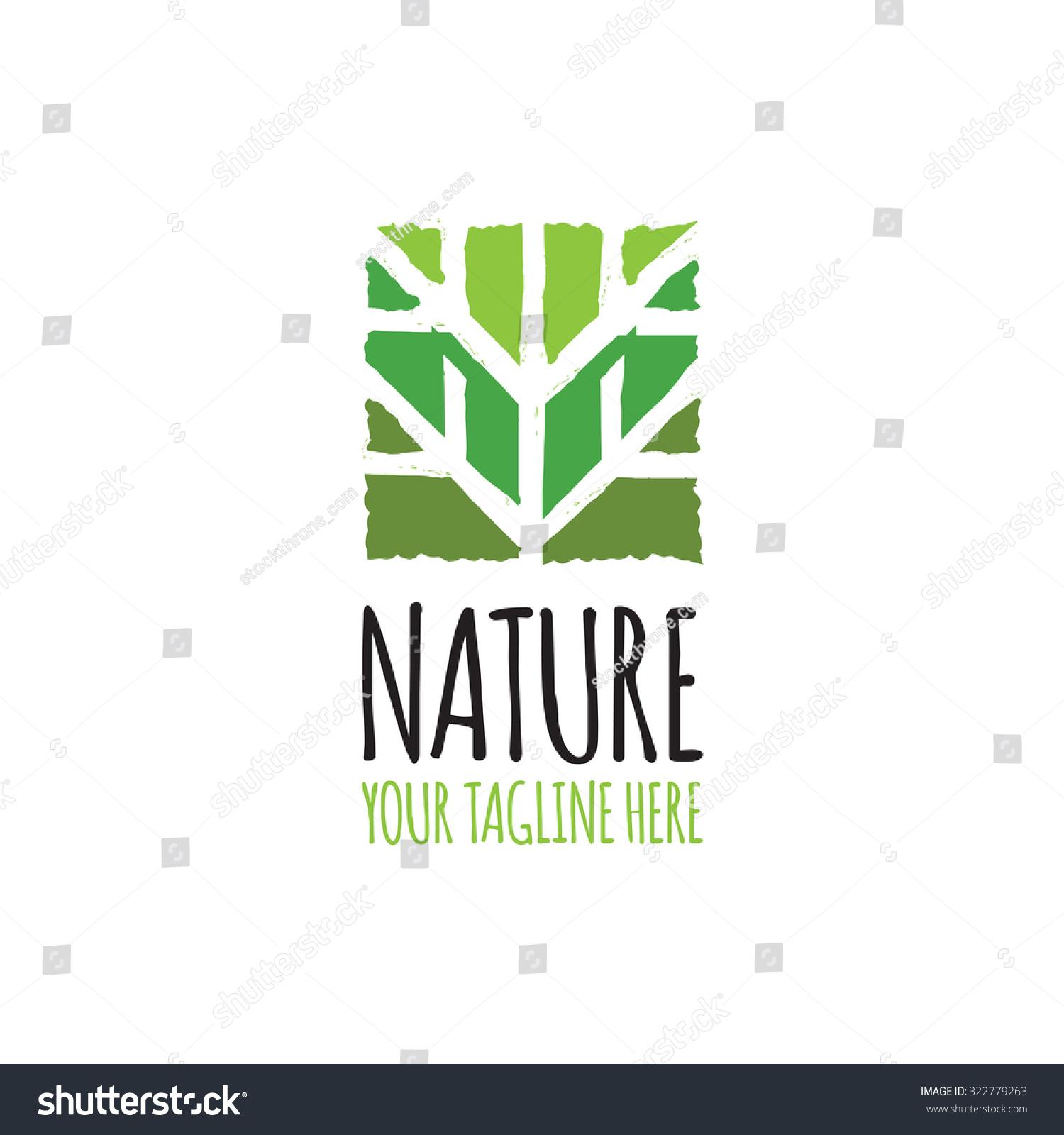 Green Abstract Tree Logo Stock Vector 322779263 - Shutterstock