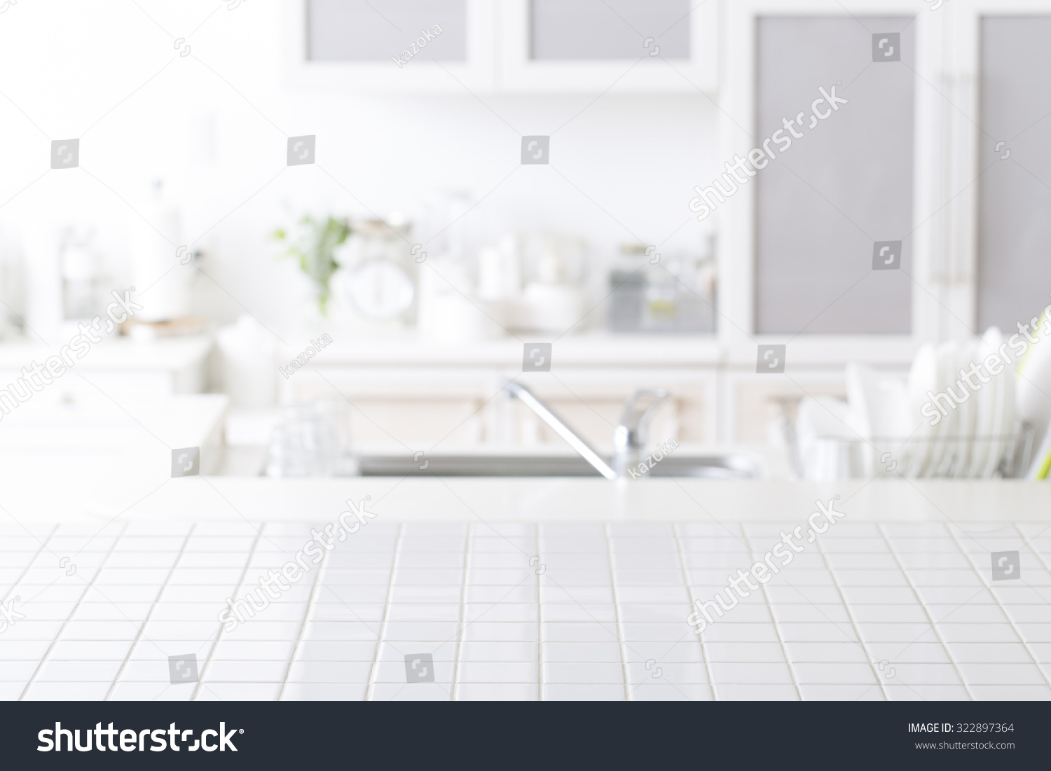 Background Of Kitchen Stock Photo 322897364 Shutterstock
