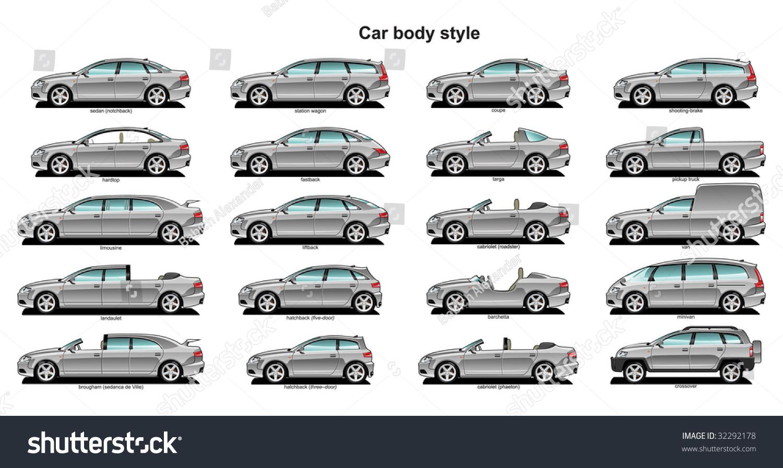 Car Body Style Stock Illustration 32292178 - Shutterstock