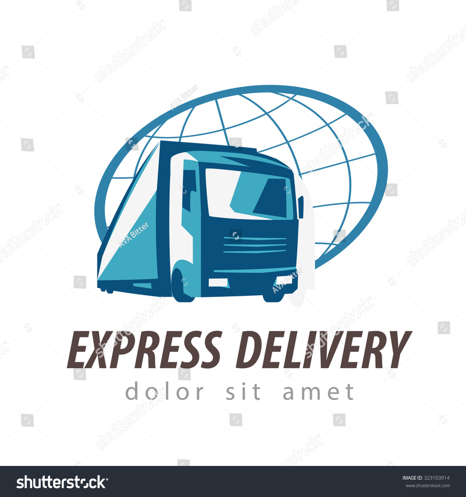 20 Truck Logo Designs  Vector EPS AI Illustrator Download