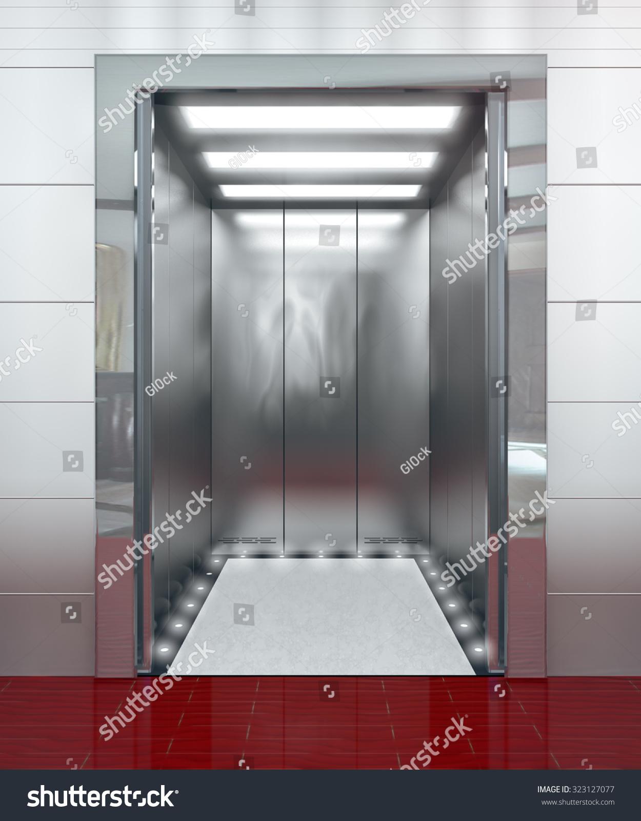 Elevator design door for Modern elevator design