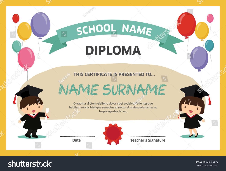 Free Graduation Certificate Template Mandegarfo