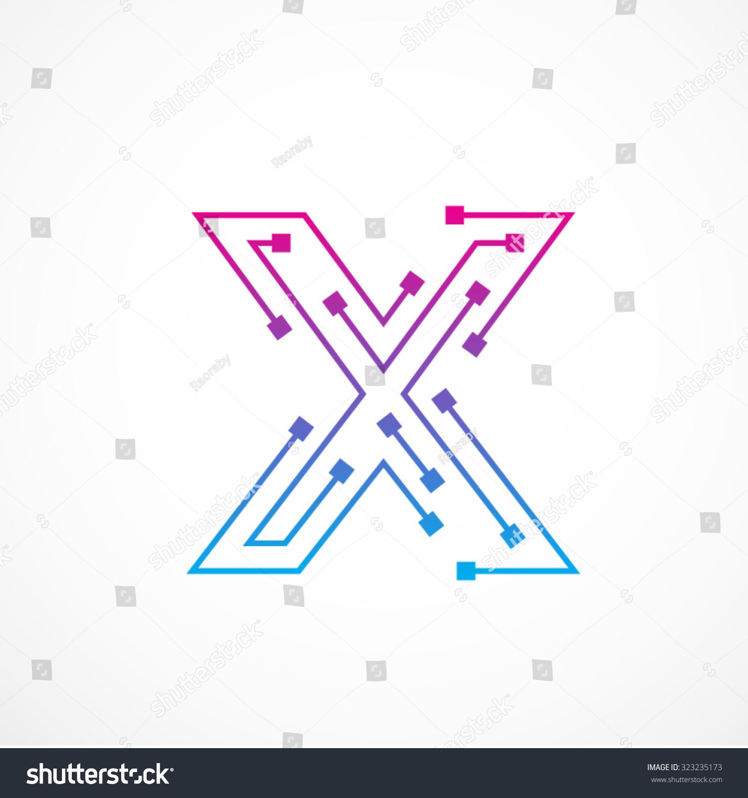 X Logo Vector Abstract Letter X Logo...