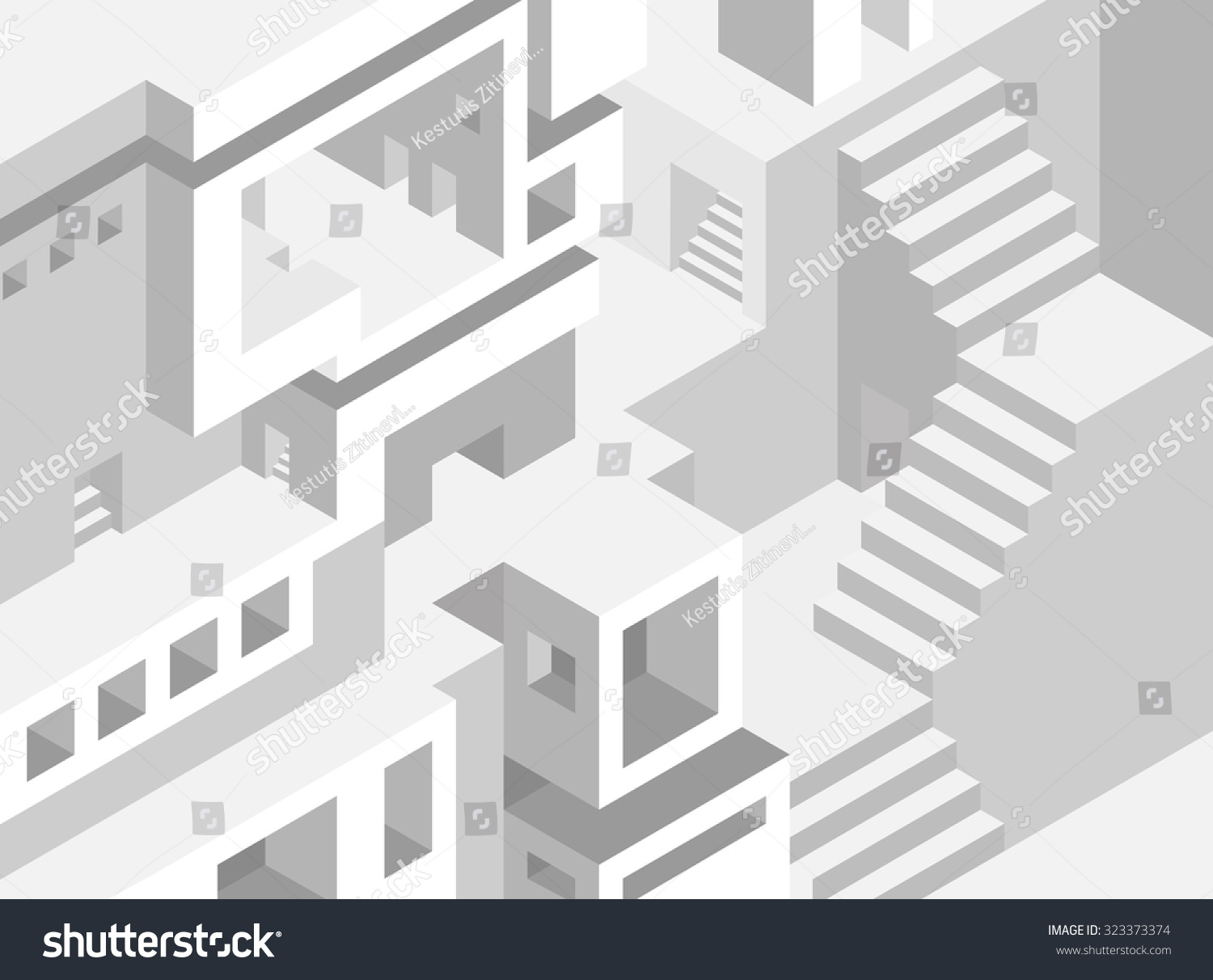 Stairs Model For Sweet Home 3d