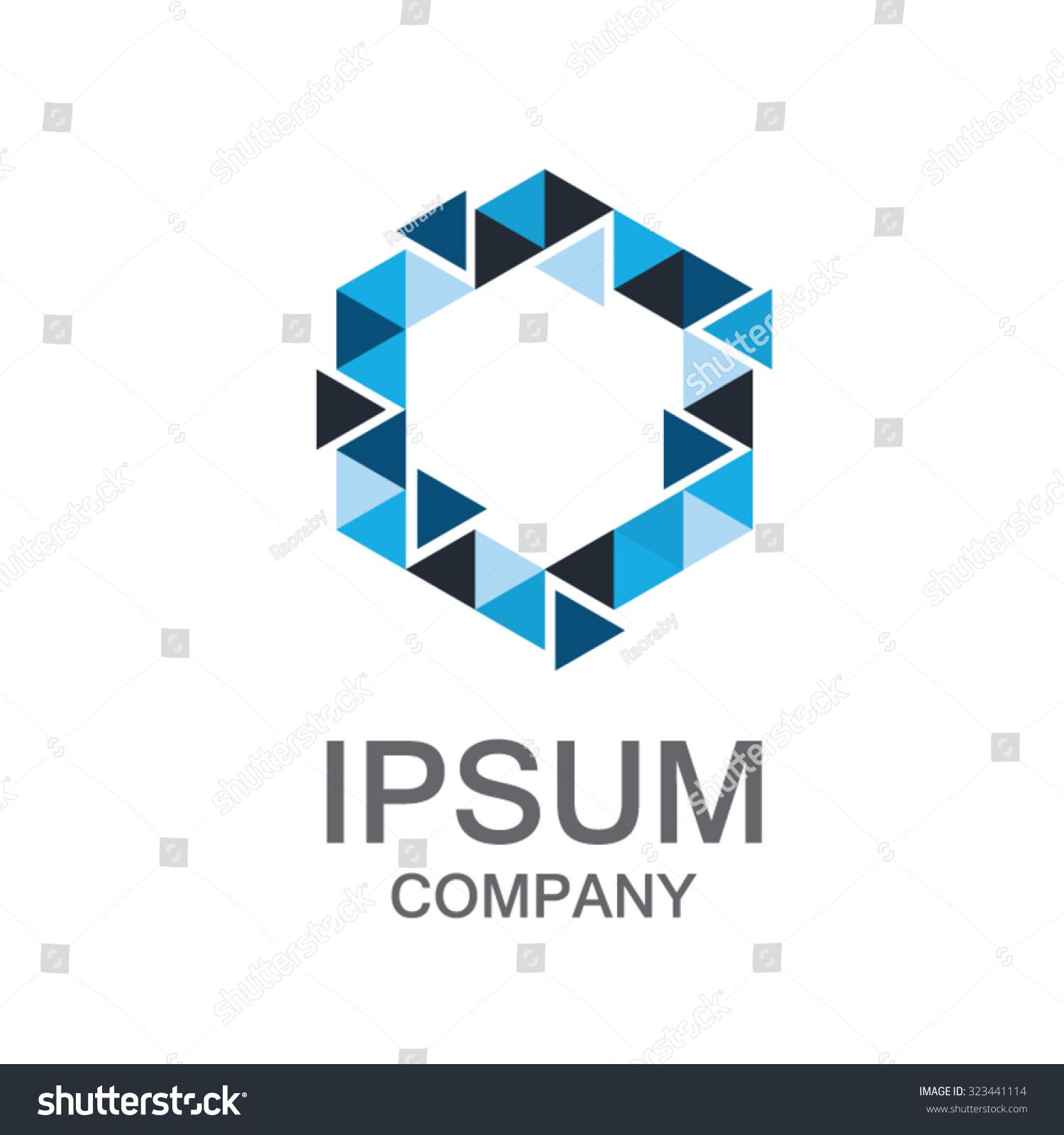Letter O Logobusiness Corporate Logo Design Stock Vector ...