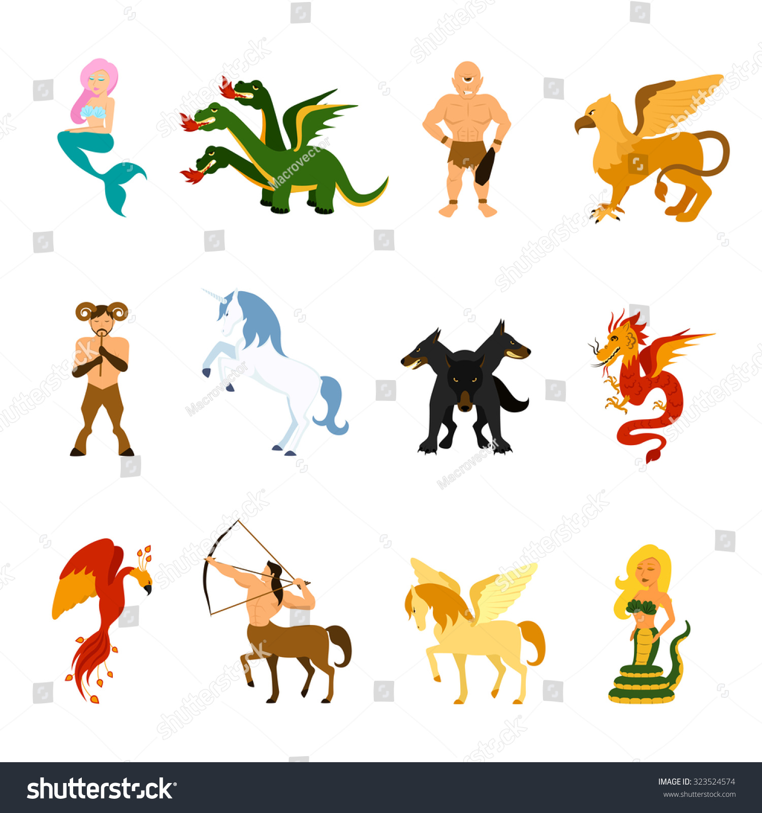 Mythical Creatures Monsters Different Mythologies Fairy