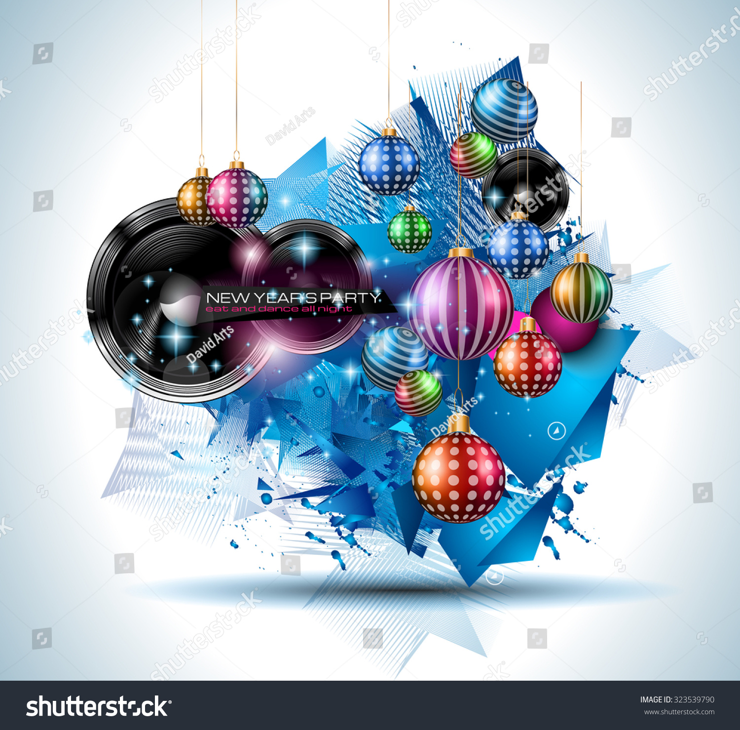 christmas party flyer music night events stock vector  christmas party flyer for music night events club poster background disco flyers private