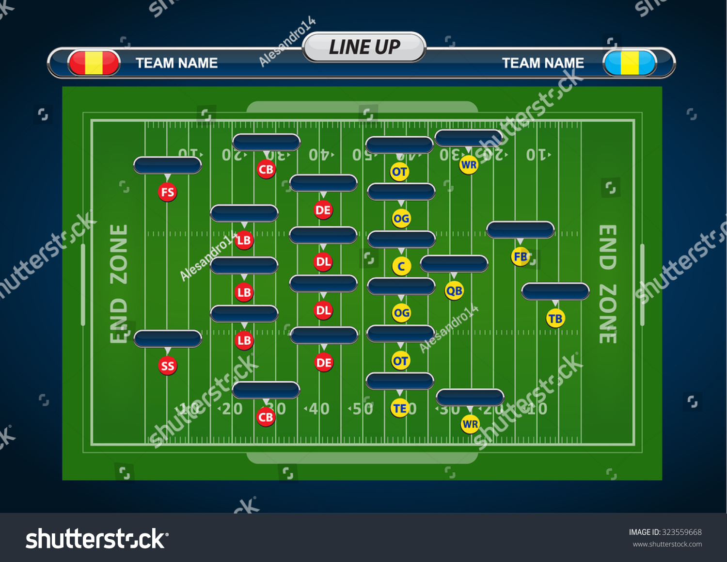american football field and player lineup with strategy football player silhouette clipart free Football Jersey Clip Art